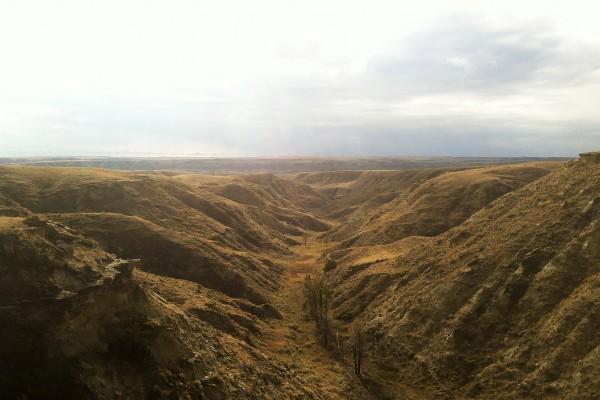 Judith River badlands