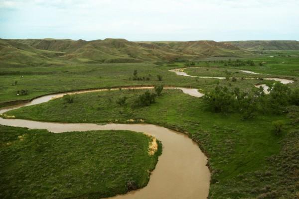Judith River Formation valley
